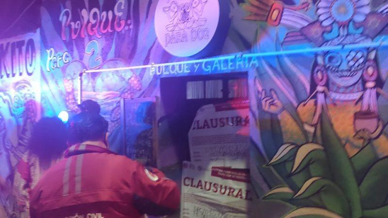 Clausuran pulquería en San Andrés Cholula por incumplir decretos oficiales