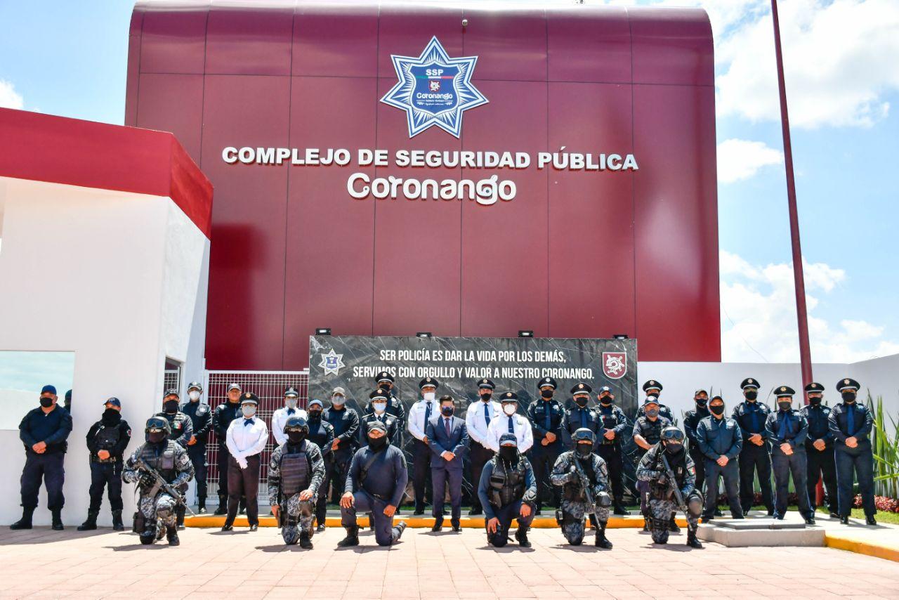 Inauguran Complejo de Seguridad Pública en Coronango