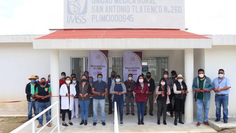 Inauguran primera etapa de la UMR-IMSS en Chiautzingo