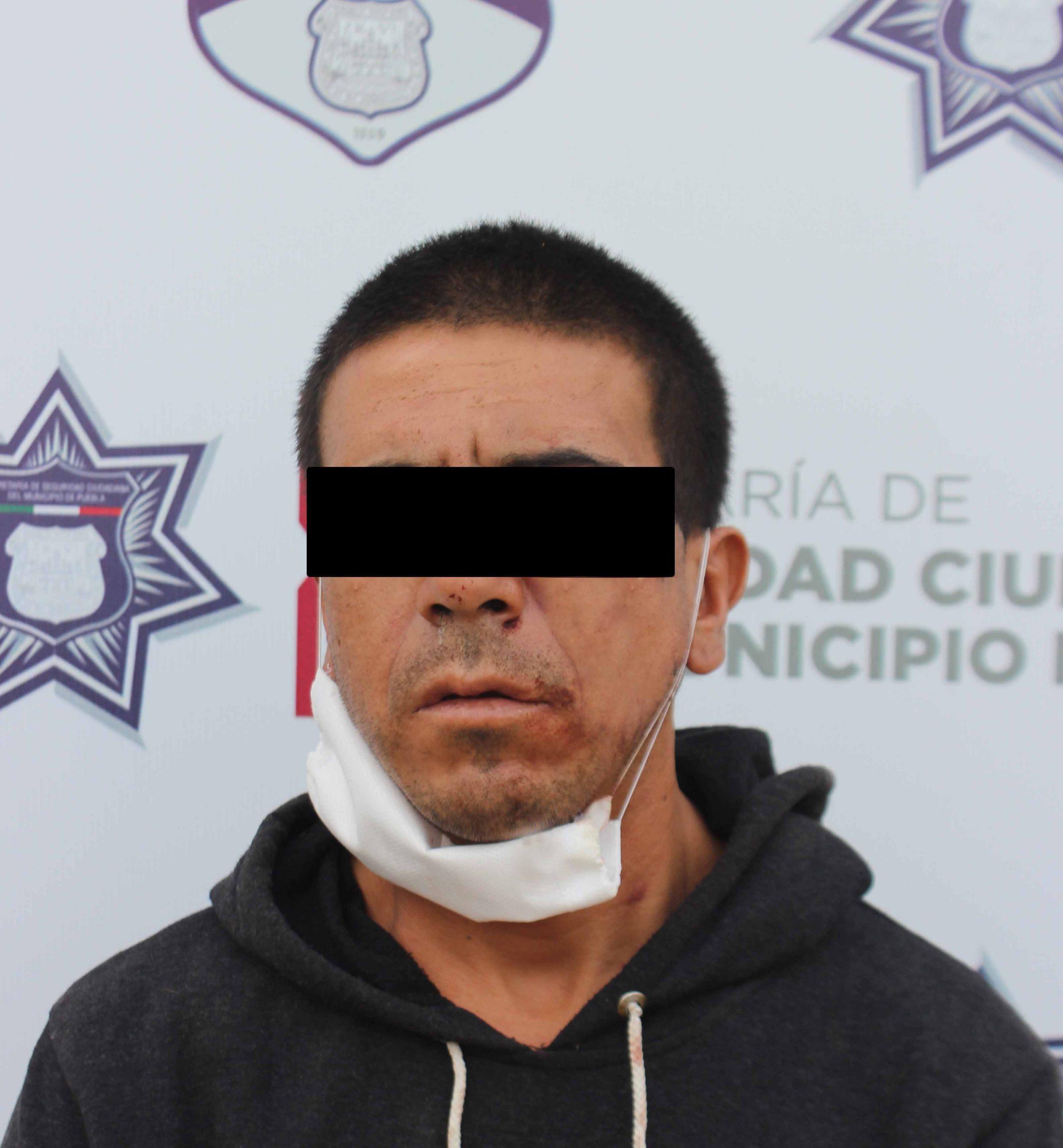 Detienen a presunto asaltante en San Manuel