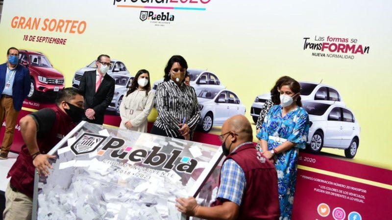 Anuncian a ganadores del Sorteo Predial 2020 en la capital de Puebla