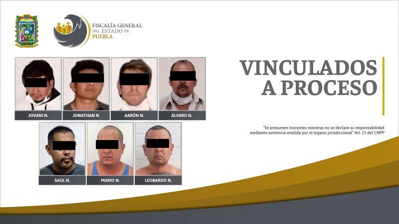 Siete detenidos con posesión de drogas serán procesados