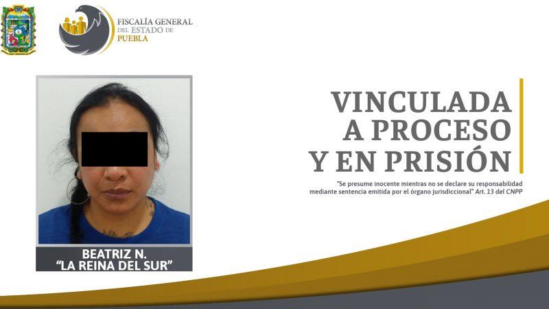 """Permanecerá en prisión Beatriz N. """"La Reina del Sur"""","""