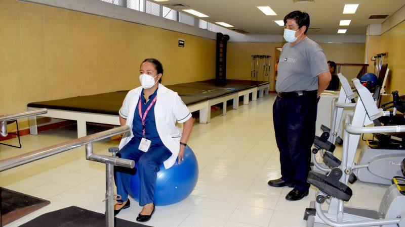 Ofrece IMSS rehabilitación a pacientes recuperados de COVID_19