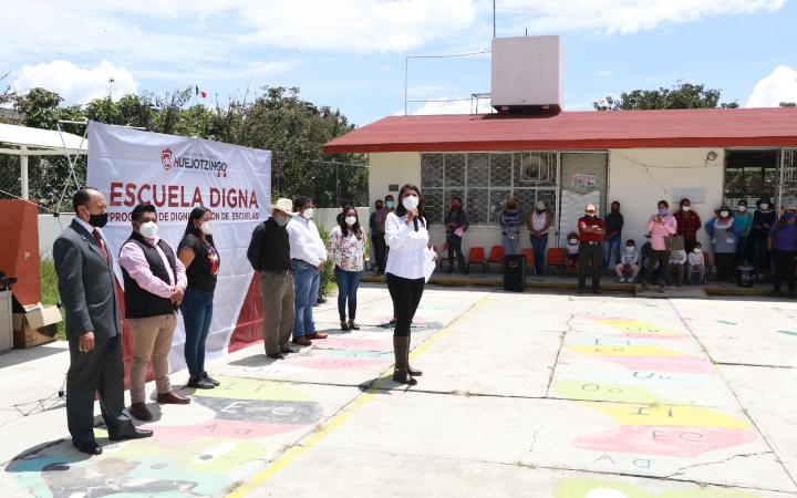 Prioriza ayuntamiento de Huejotzingo acciones en materia educativa