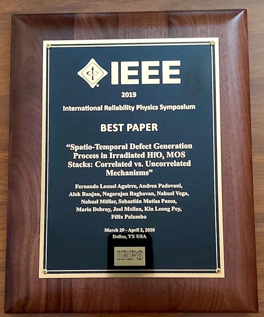 Investigación del INAOE es premiada a nivel internacional