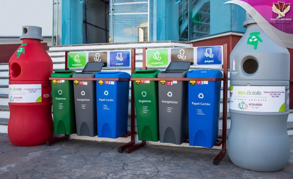 Fomentan el reciclaje en Cuautlancingo