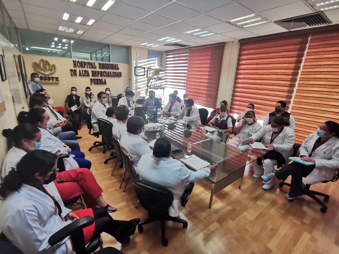 Certifican al ISSSTE Puebla con el ISO 9001:2015