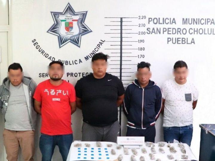 """""""Los Martillo"""" se dedicaban al robo con violencia en la zona metropolitana  de Puebla"""
