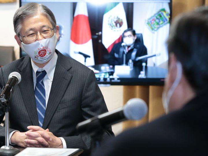 Propone Japón ampliar relaciones bilaterales con Puebla