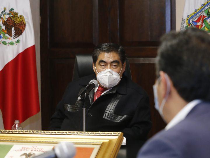 Pide MBH mantener medidas sanitarias ante repunte de Covid_19 en Puebla