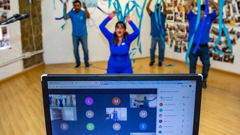 Ofrecen talleres virtuales para adultos mayores en la capital de Puebla