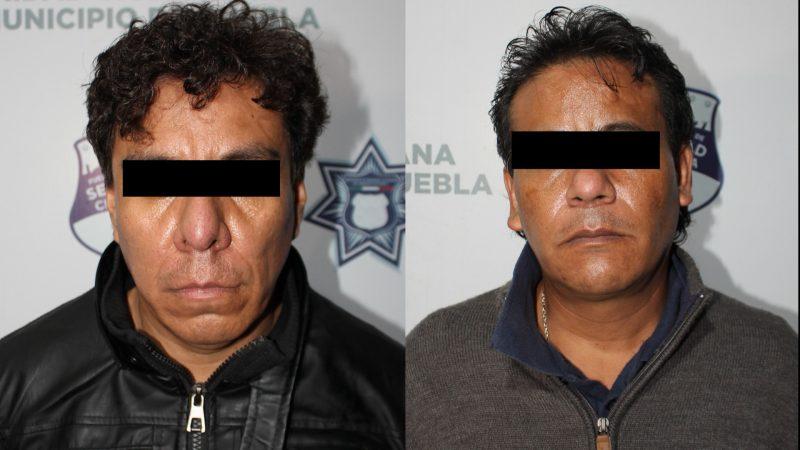 Asaltan en Cuautlancingo y son detenidos en Puebla