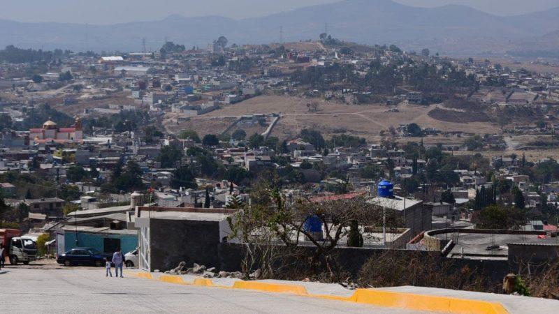 Inuaguran calles en la capital de Puebla