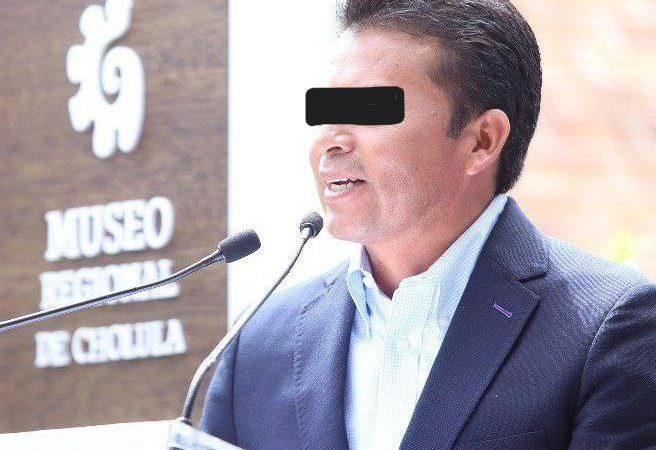 Detienen al ex edil panista de San Andrés Cholula, Leoncio Paisano