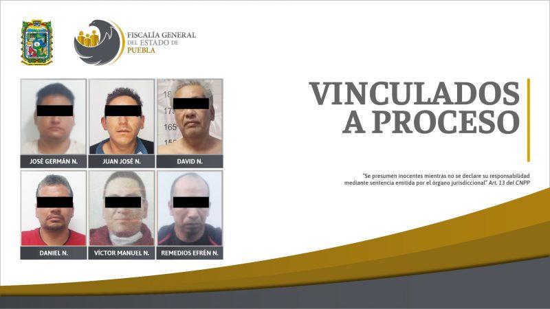 Vinculados a proceso por violencia familiar