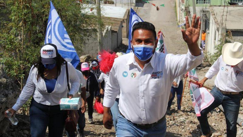 Recursos para reactivar el campo en Tochtepec: Gerardo Campos