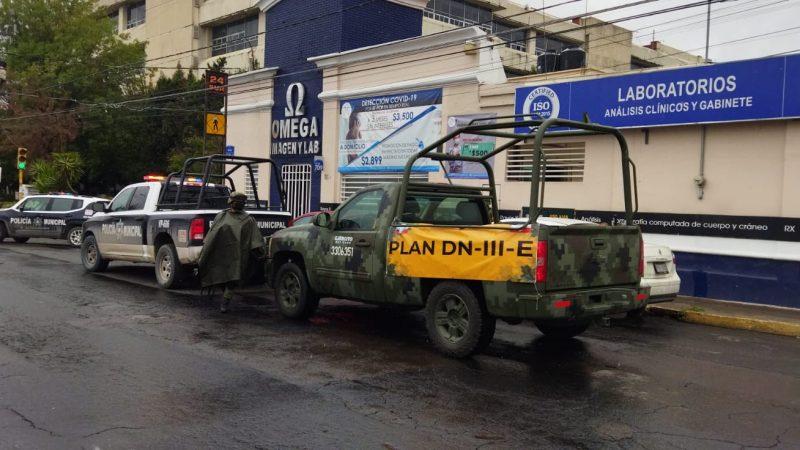 Desalojan Secretaría de Planeación y Finanzas por amenaza de bomba