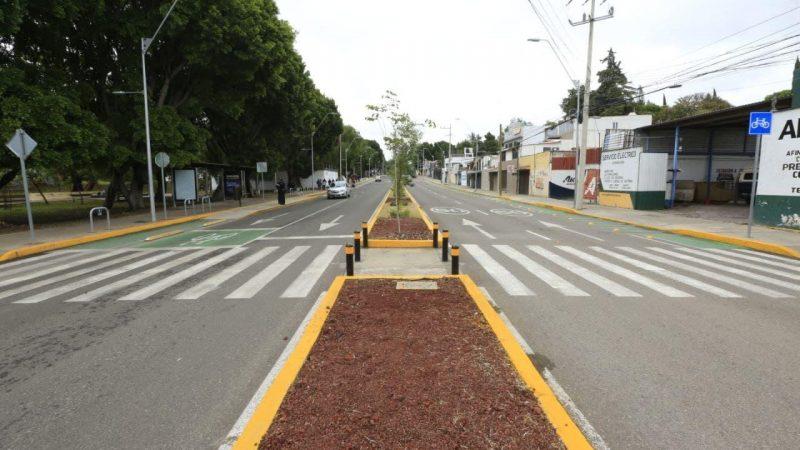Inauguran rehabilitación de la avenida Xonaca