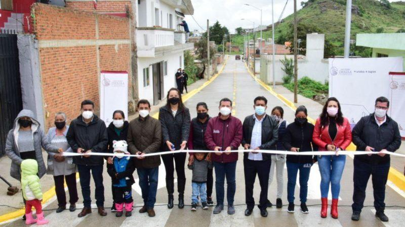 Inauguran obra de infraestructura en junta auxiliar de San Pedro Cholula