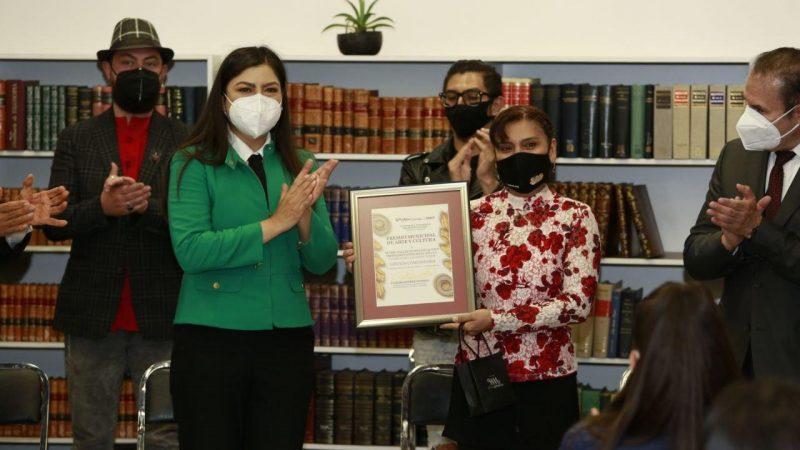 Entregan el Premio Municipal de Arte y Cultura en Puebla