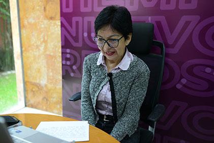 Desarrollo de la institución, lo que une a los universitarios: Lilia Cedillo