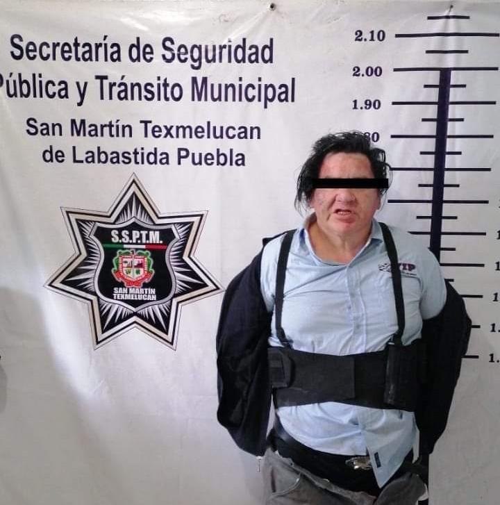 Aseguran a presunto homicida de una madre y su hijo en San Martín Texmelucan