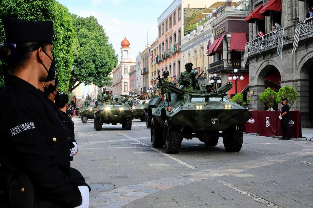 Celebran en la capital de Puebla el CCXI aniversario del inicio de la Independencia
