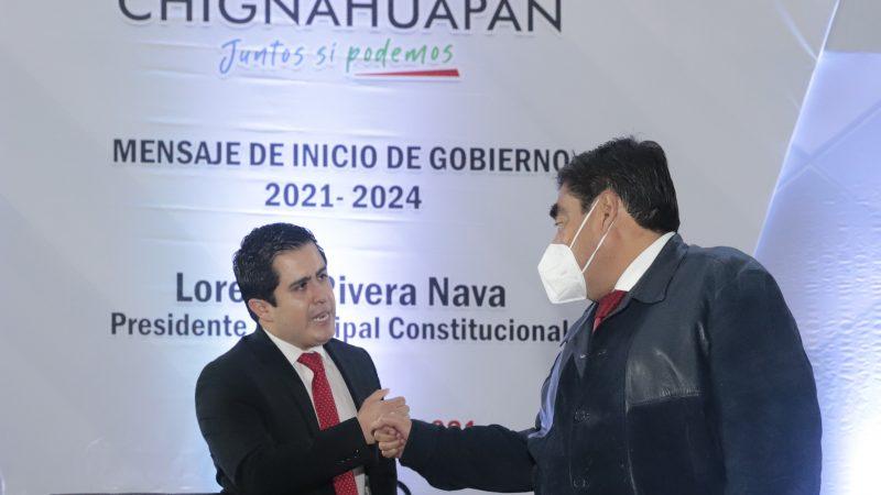 Ofrece Lorenzo Rivera gobernar Chignahuapan con diálogo y respeto