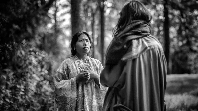 Yalitza Aparicio, es Yalitza en el corto de Hijas de Brujas  Por: Ray Zubiri